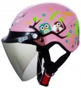 004貓頭鷹半罩安全帽(中童)