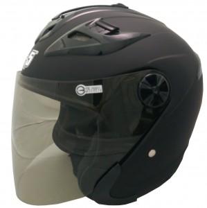 222B素色安全帽(隱藏式墨片)